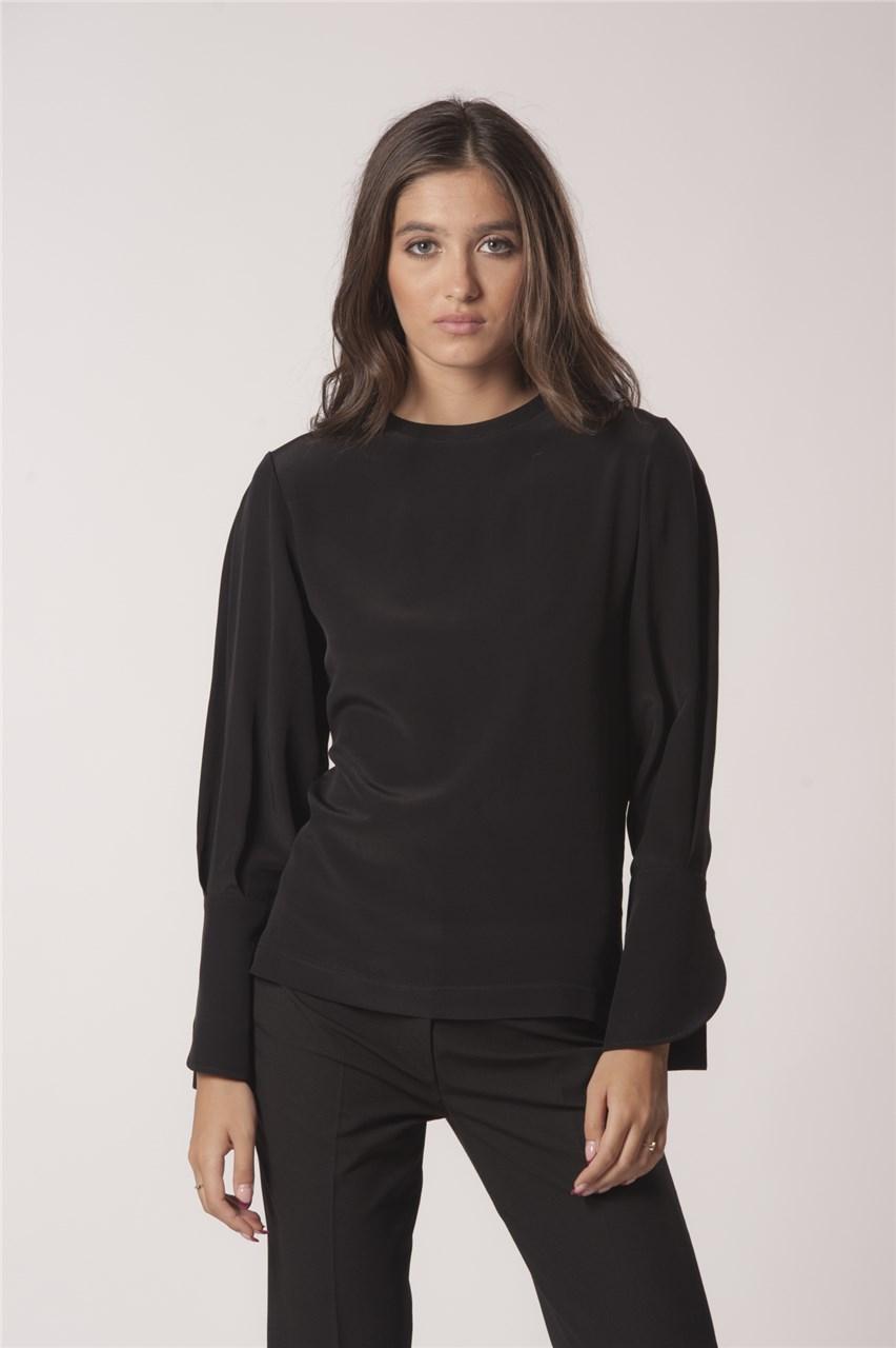 Блуза Лиса црна