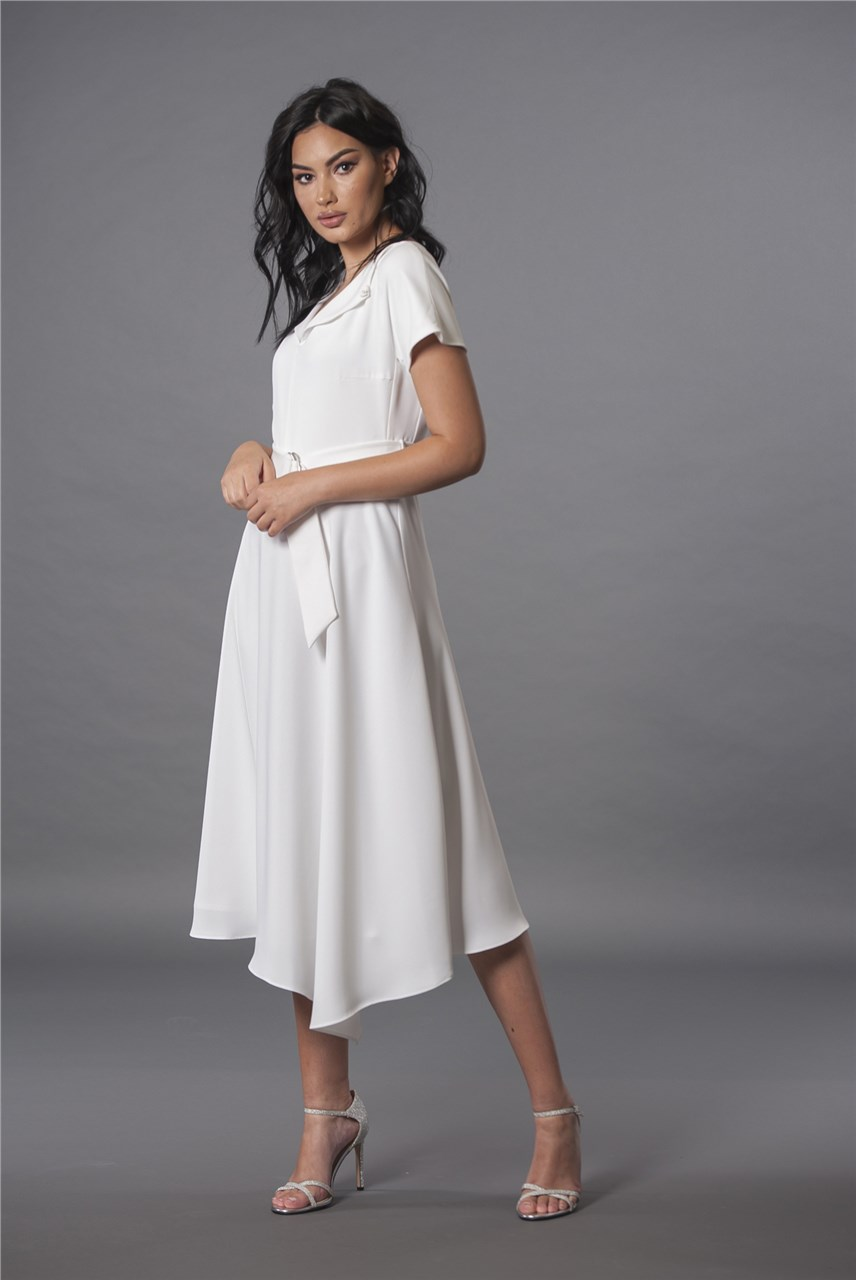 Фустан Калина бел
