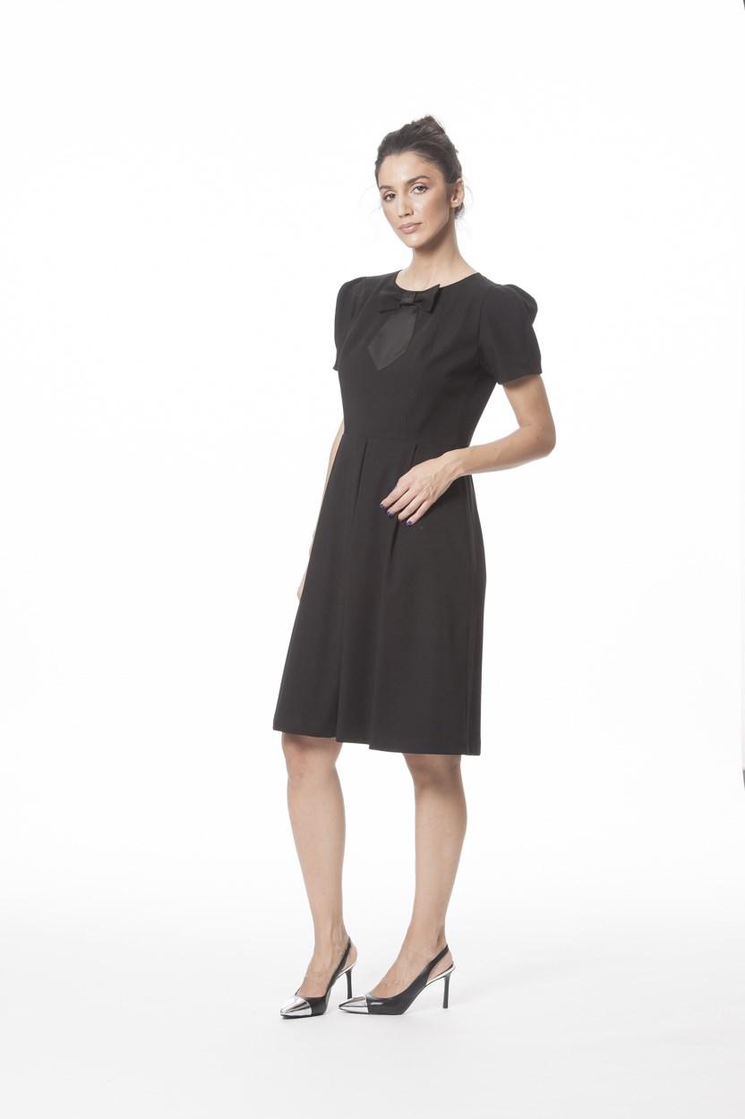 Фустан Тиа црн