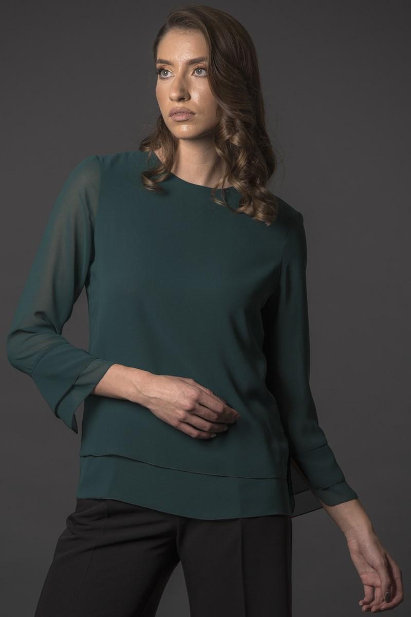 Блуза Карол грин
