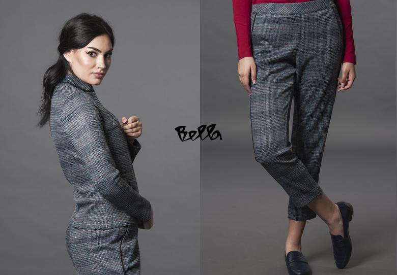 Неодолива комбинација: јакна и панталони Луна каро