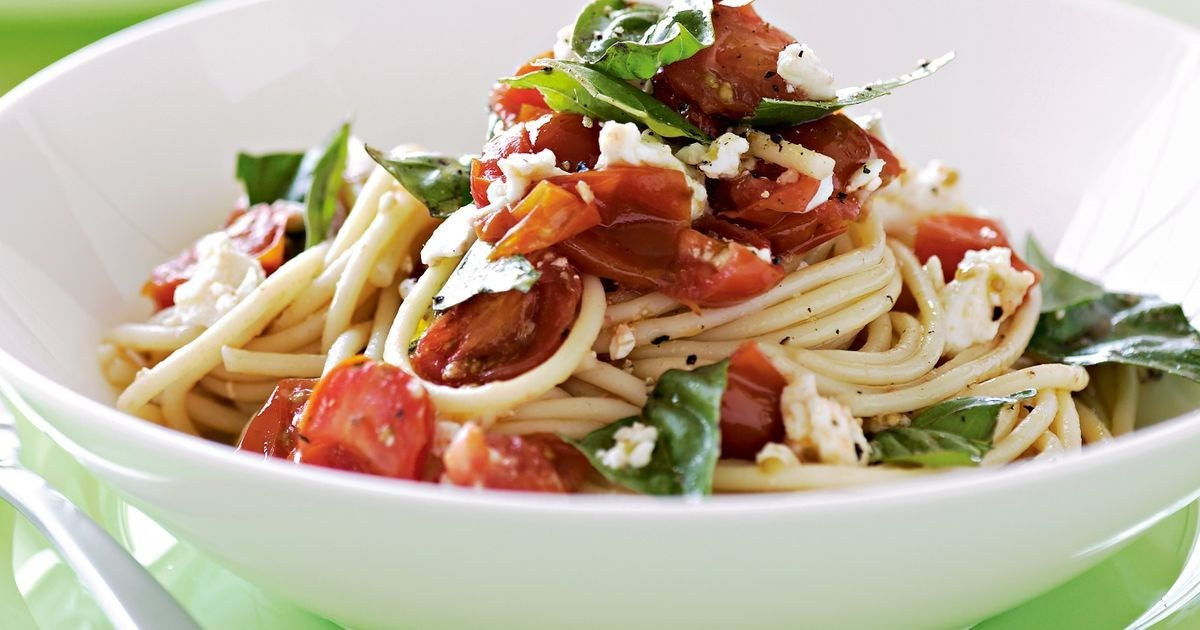 Рецепт за пролетни шпагети