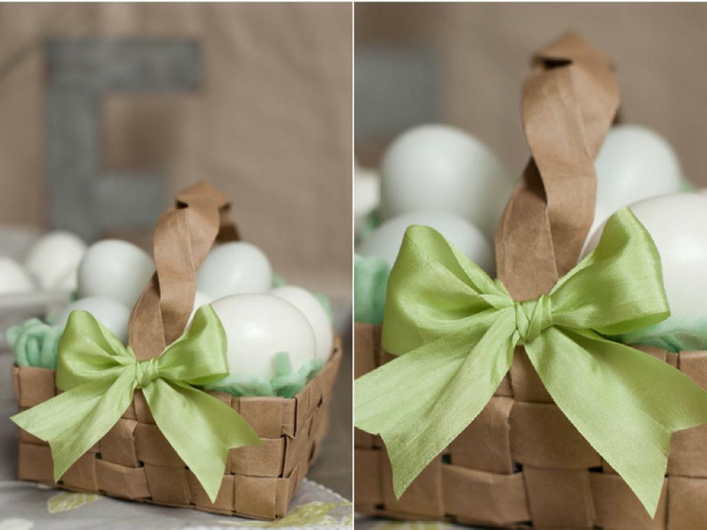 Направете сами - корпа за велигденски јајца