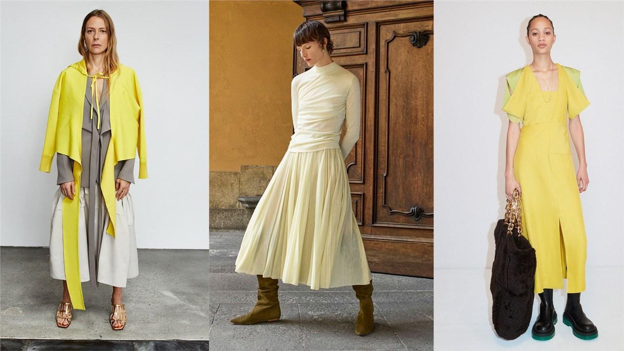 Како да носите лимон жолта боја оваа есен