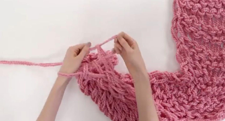 Интересен начин на плетење без употреба на игли