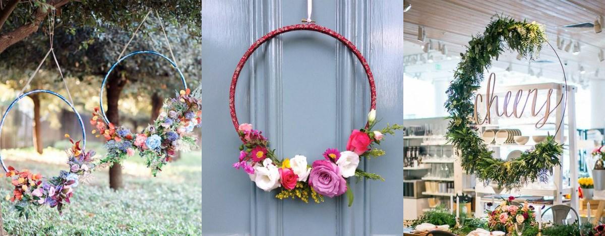 Цветни венци – декоративен тренд оваа пролет
