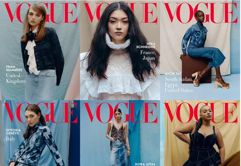 Познатите модели во деним на насловна страница