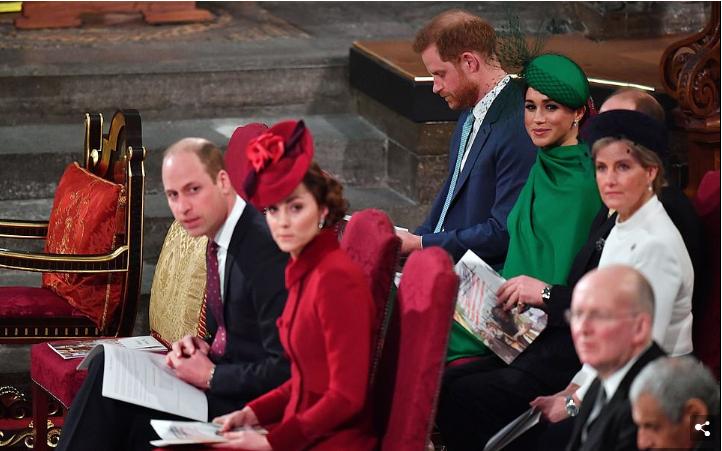 Првата средба на Принцот Хари и Вилијам после Мегзит