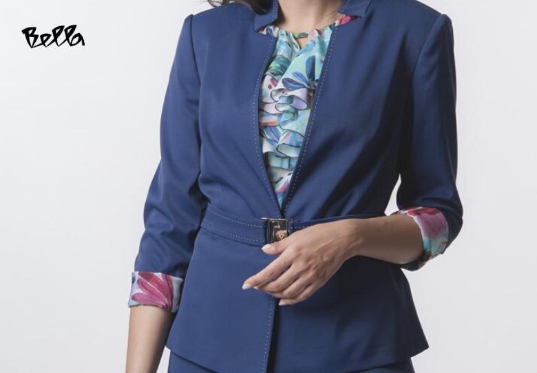 Bella неделен деловен изглед: Палто Монако и сукња Монако Лур
