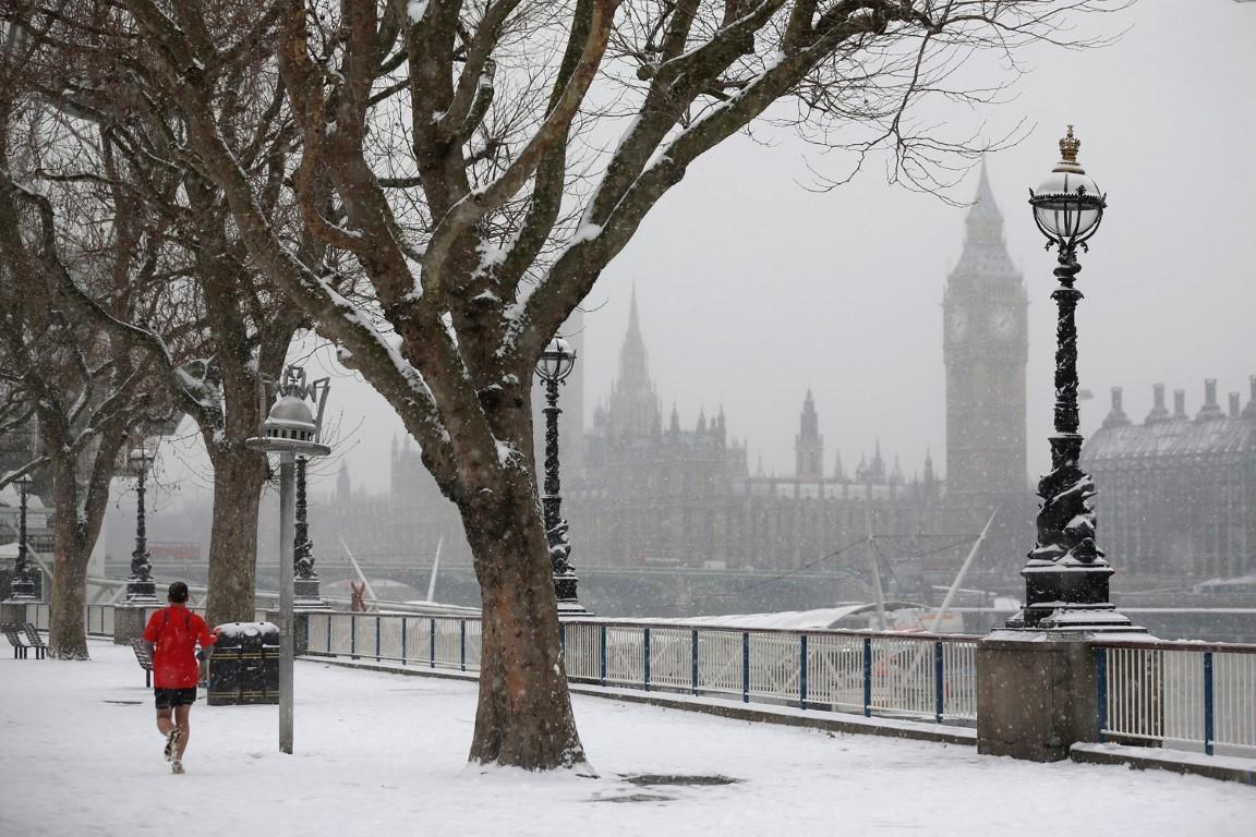 Зимски фотографии од европските главни градови