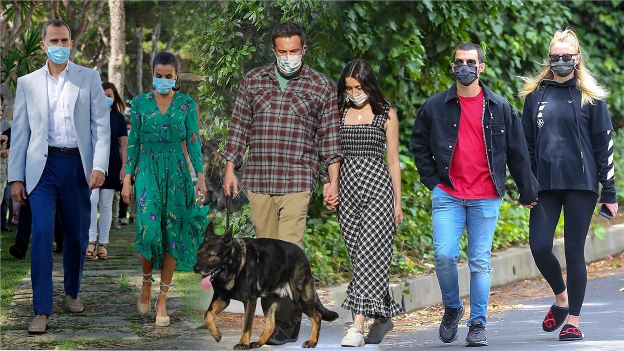 Дали усогласените маски се најголемиот хит кај славните личности за ова лето?!