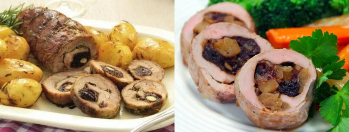 Рецепт за свинско филе со сливи