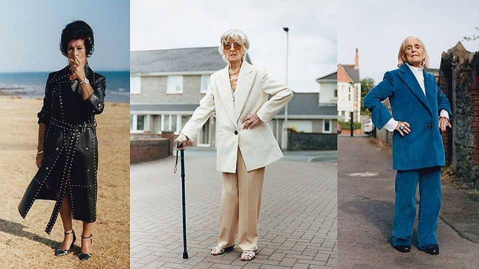 Гламурозни бабички од Велс во центарот на вниманието на новата кампања на Хелмут Ланг