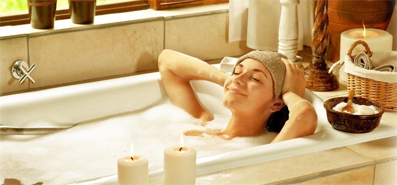 Со топла бања трошите големо количество на калории