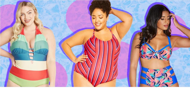 Најдобрите плус сајз модели на костими за ова лето