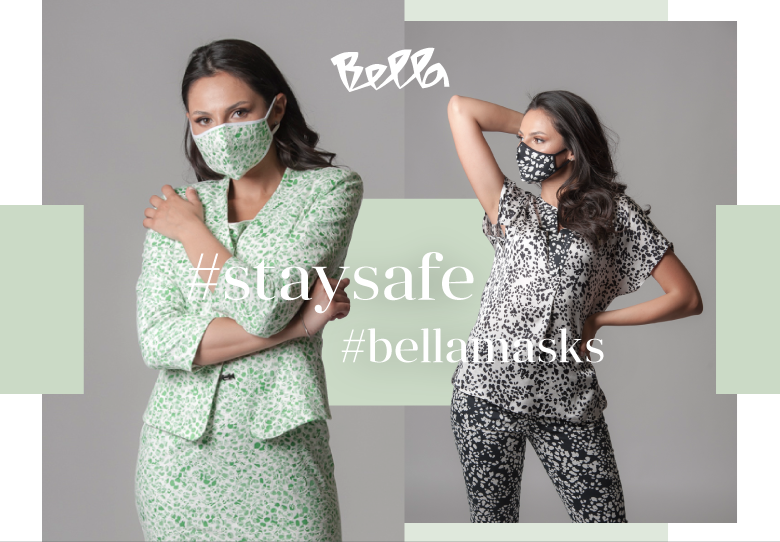 Заштитете се себе си и луѓето околу вас со новите маски на Bella